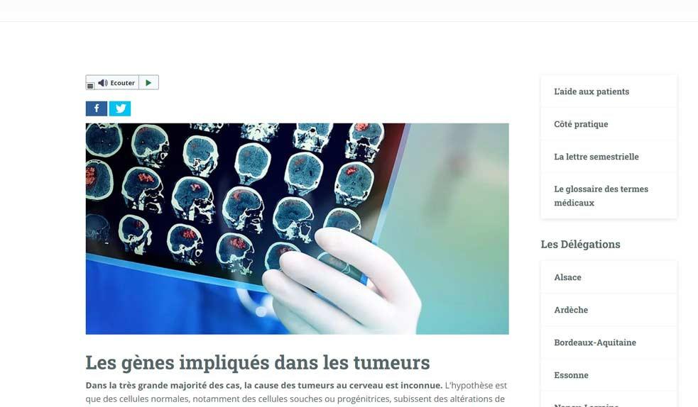 accessibilité site read speaker