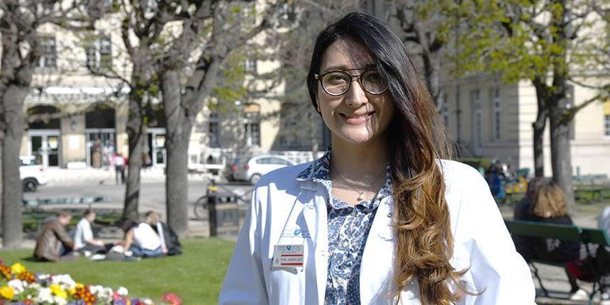 Formation de jeunes médecins étrangers