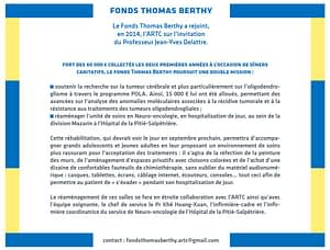 Actions du Fonds Thomas Berthy
