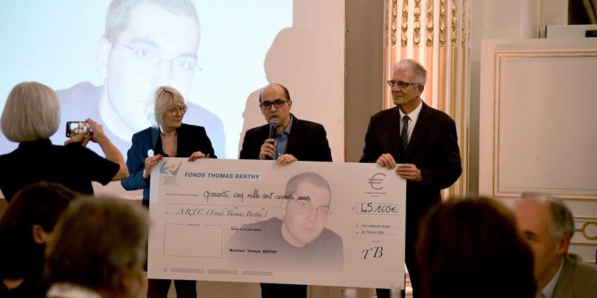 Soirée fonds Thomas-Berthy au profit de l'artc